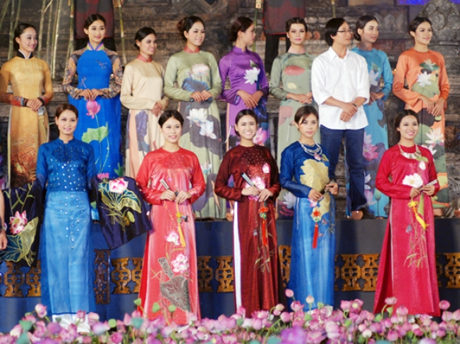 The Third Biennial Ao Dai Festival
