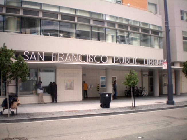 San Francisco Library Urinator Damages $3,000 Worth of Books