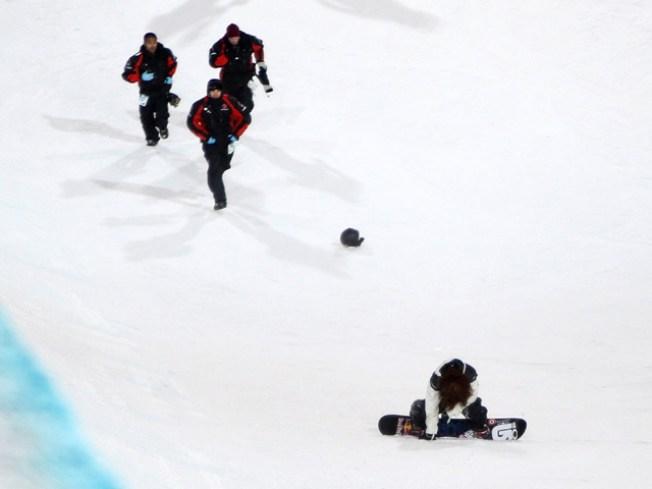 Shaun White Takes Nasty Spill