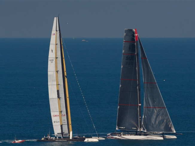 Team Ellison Wins Back America's Cup