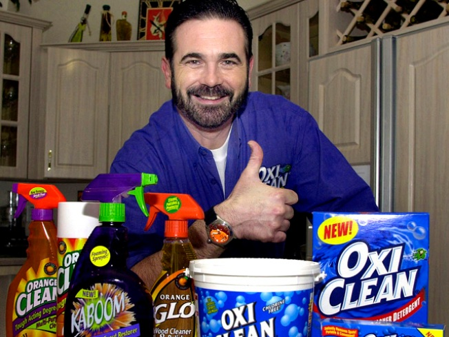 Billy Mays Halloween Costumes Get Family's Thumbs-Up