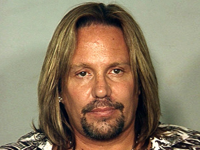 Motley Crue Singer Busted for DUI