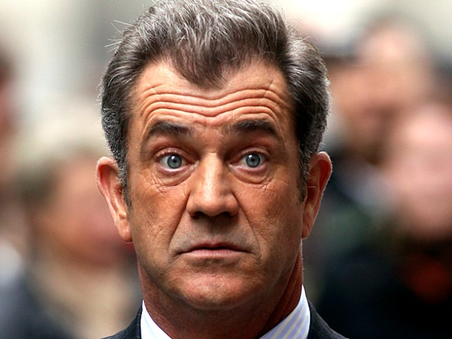 Mel Gibson Unhurt After Crashing Maserati