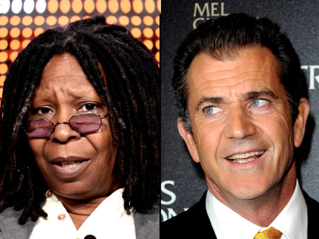 """Whoopi Defends Mel: """"He's No Racist"""""""