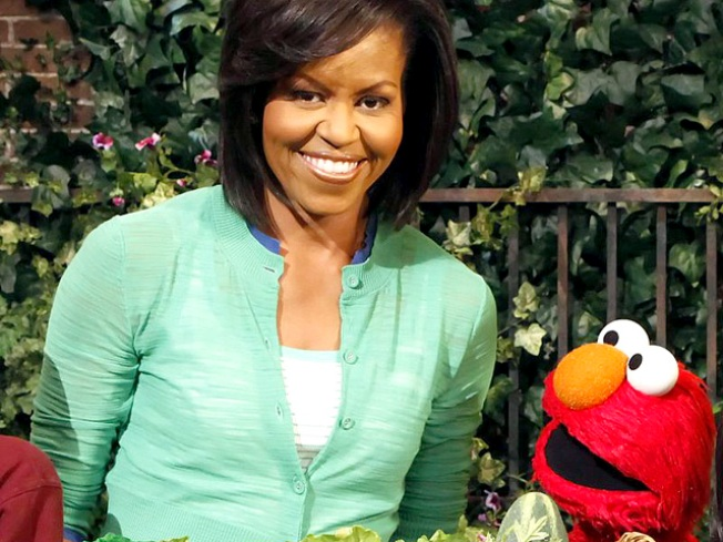 "Michelle Obama Takes Green Message to the ""Street"""