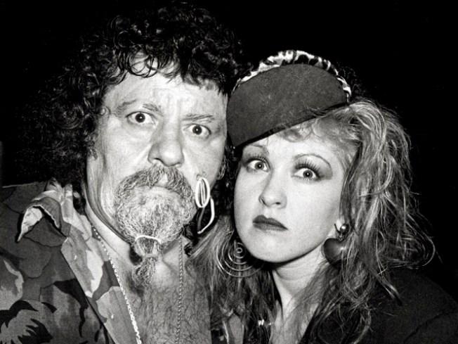 "Cyndi Lauper Remembers Late Wrestler ""Captain"" Lou Albano"