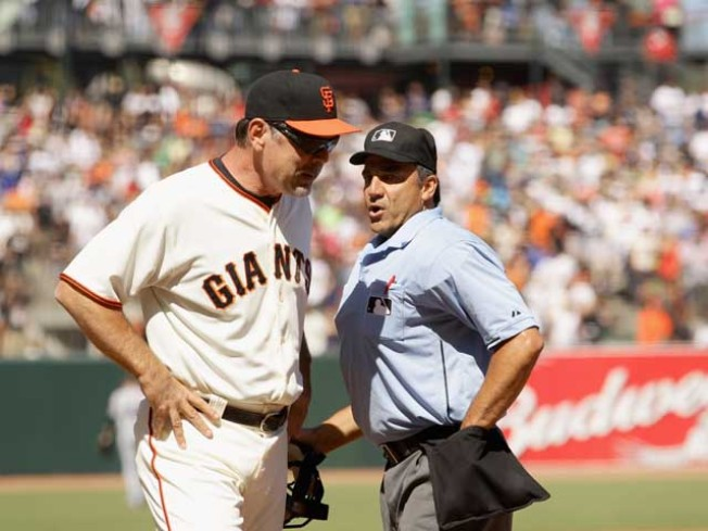 Ump Who Robbed Giants Faces Discipline