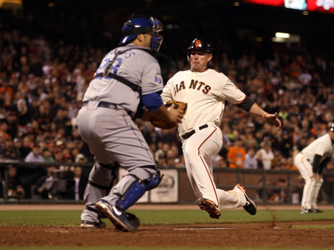 Giants Go for Division Lead Tonight vs. Dodgers