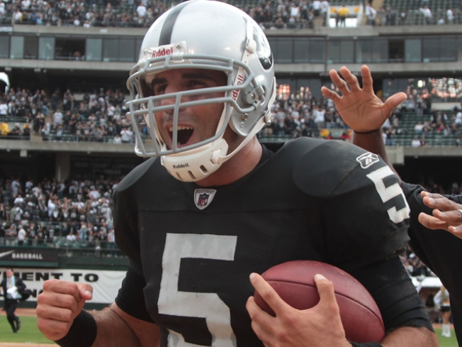 Gradkowski Will Start for Raiders