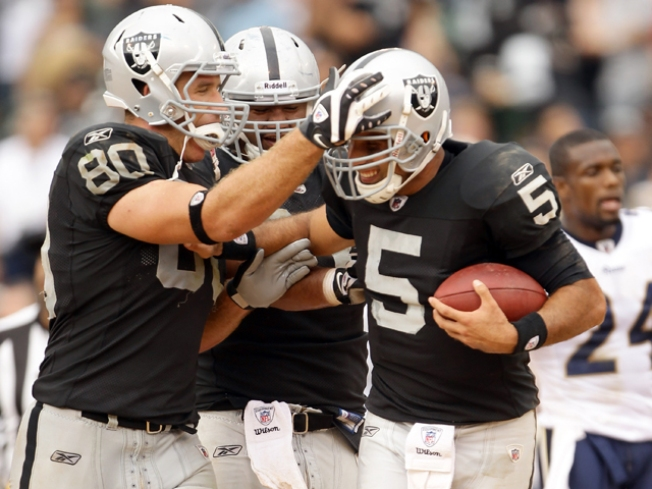 Gradkowski Taking Raiders' Show on Road