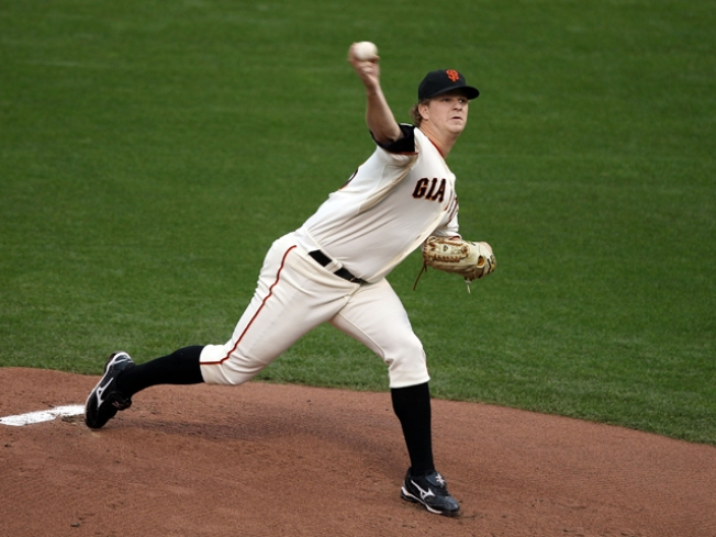 Cain Throws Strong, Giants Lose in Scottsdale