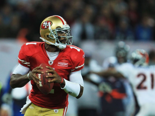 49ers Stick with Troy Smith