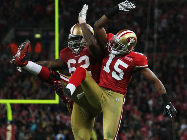 49ers Move Up on Their Day Off