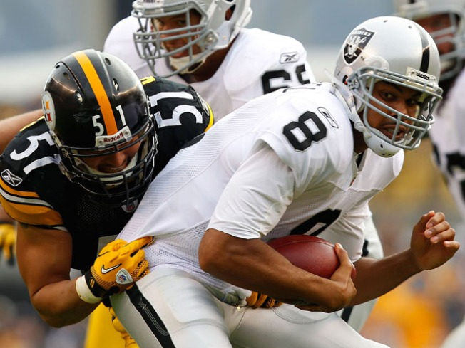 Raiders Cold-Cocked in Pittsburgh, 35-3