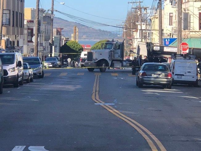 Pedestrian Fatally Struck By Big Rig in San Francisco