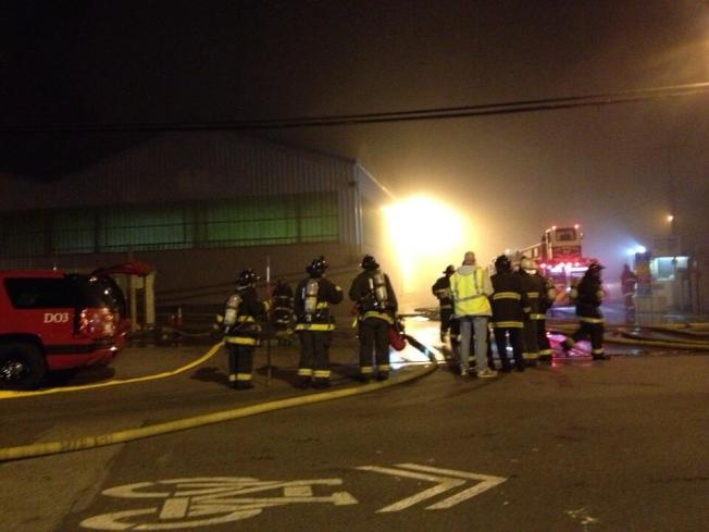 Fire Causes $75K of Damage to Recology Recycling Facility