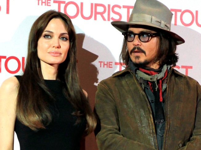 Johnny Depp, Angelina Jolie Most Popular Actors in America