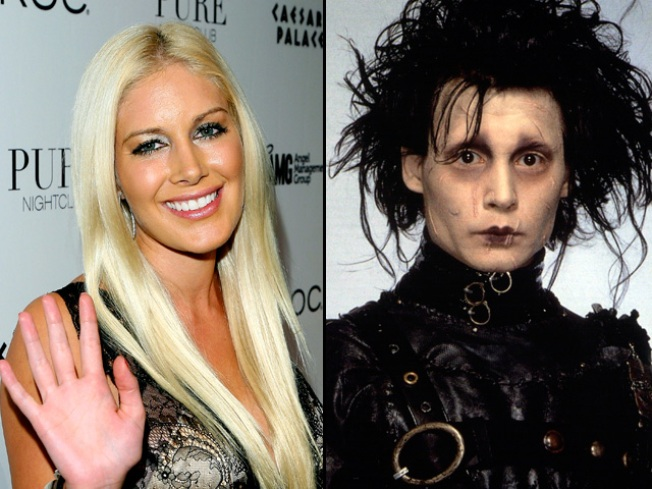"Heidi Montag: Plastic Surgery Made Me ""Edward Scissorhands"""