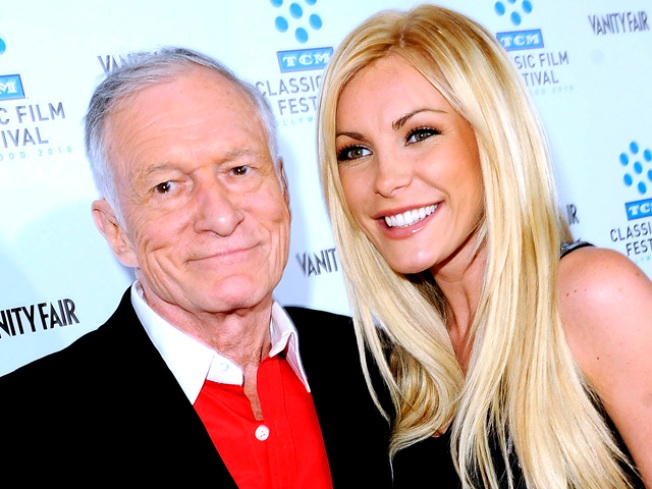 Hef's Fiance Flashes Her Bling: First Look at Crystal Harris' Engagement Ring