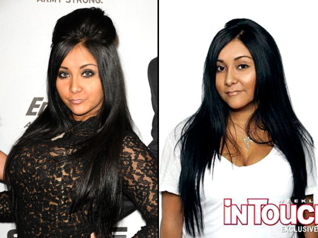 'Jersey Shore's' Snooki Tries Out The Natural Look