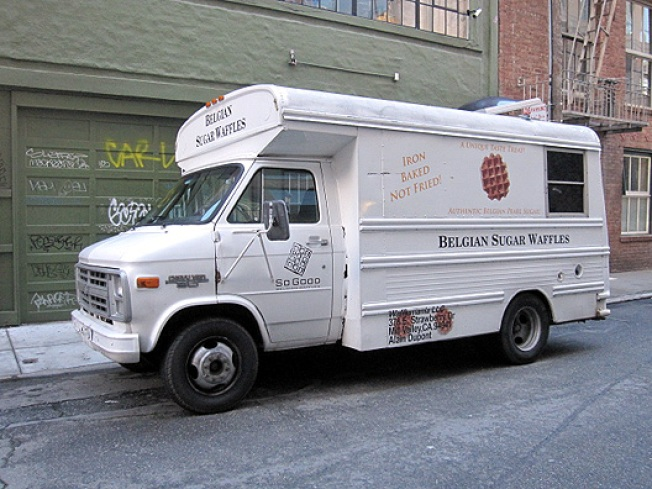 Waffle Mania Truck Now Making the Rounds in SoMa