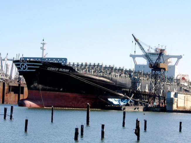 Cosco Busan Spill Costs Company $10 million