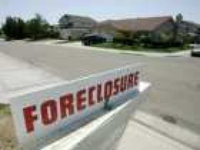 California Foreclosures Shoot Through the Roof