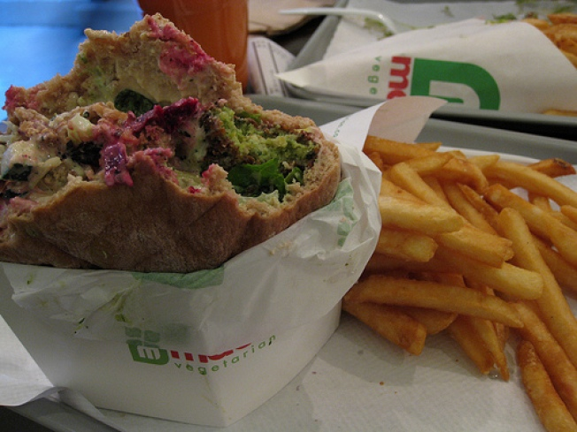 A Falafel Restaurant Not Meant for PETA