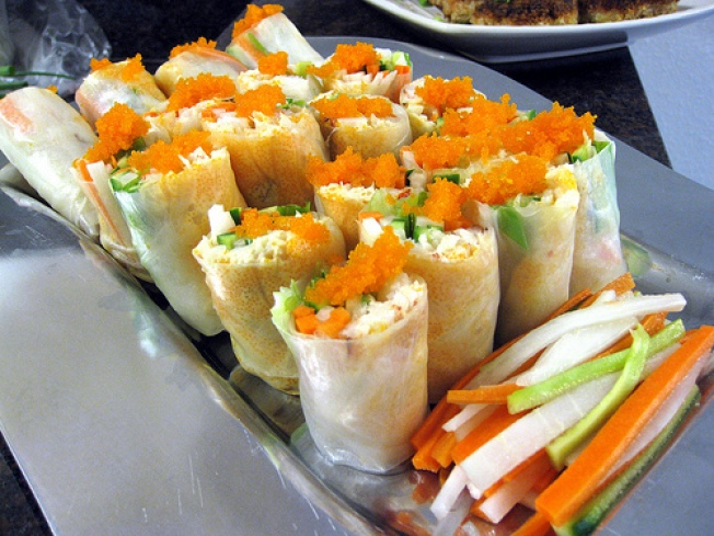 Crab and Tobiko Summer Rolls Hit the Bay Area