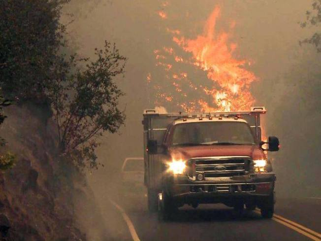 California Wildfire Calls for Immediate Relief