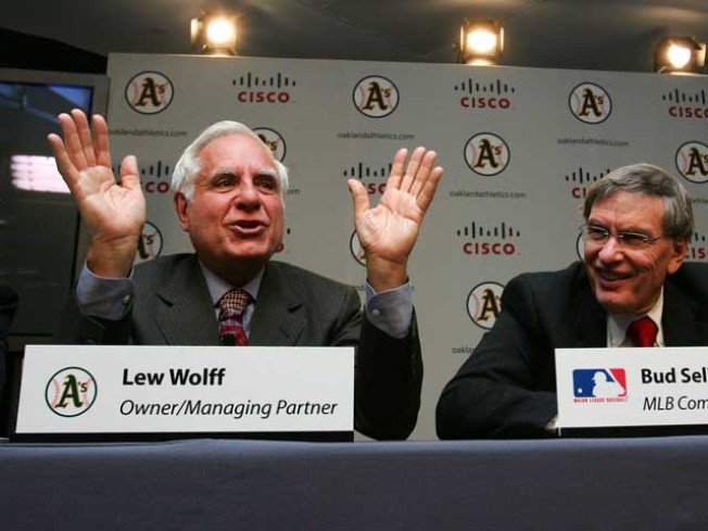 Lew Wolff Stepping Down as Managing Partner of the Oakland Athletics
