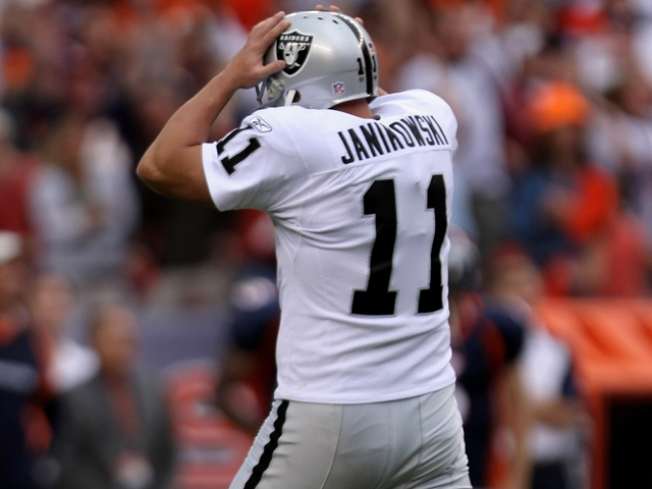 Cable Won't Blame Kicker for Raiders' Loss