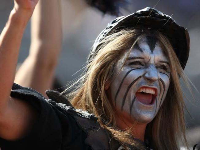 Raiders About to Sell Naming Rights