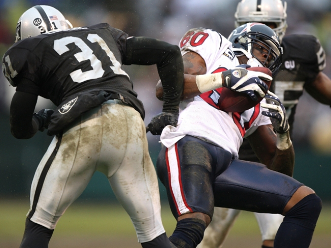 Texans Might Lack Big Gun Against Raiders
