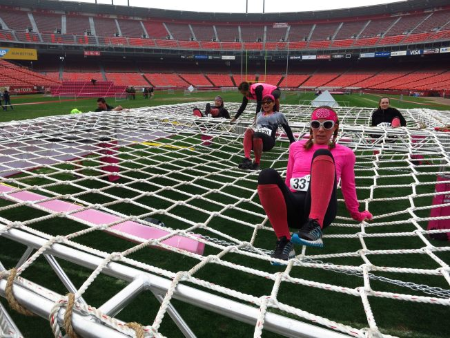Candlestick Hosts Girls-Only Muddy Competition