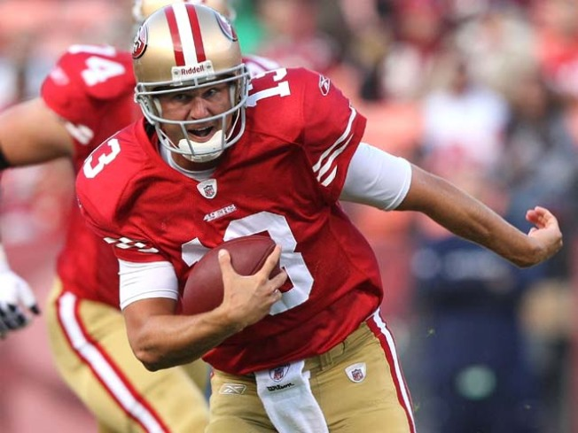 Shaun Hill Named 49ers Starting QB