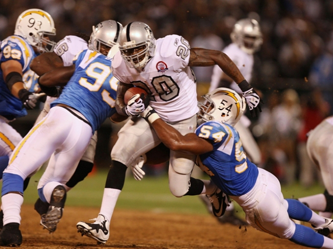 McFadden May Return Punts For Raiders