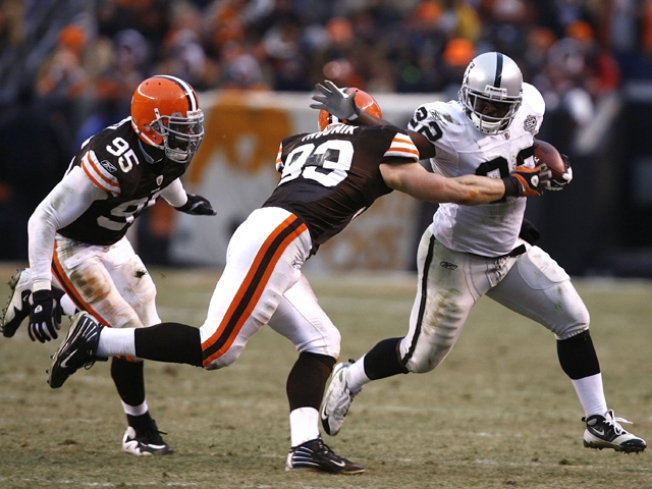 Browns Claiming Raiders Took Cheap Shots