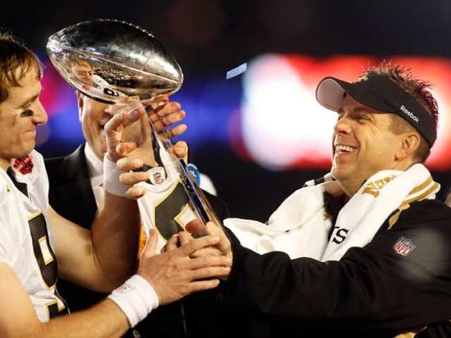 Sean Payton Served McDonald's at Raiders Interview