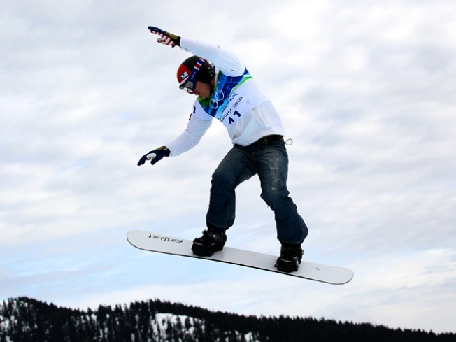Seth Wescott Wins Snowboardcross Gold for the U.S.