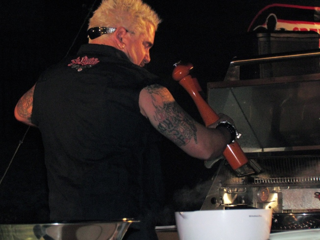 Guy Fieri Is So Close You Can Taste Him