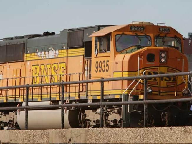 BNSF Train Strikes, Kills Person in Martinez