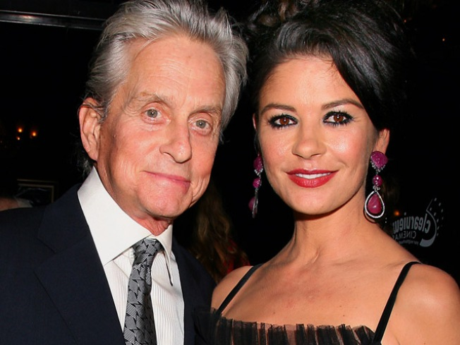 Zeta-Jones: Michael Douglas Nearly Done with Chemo