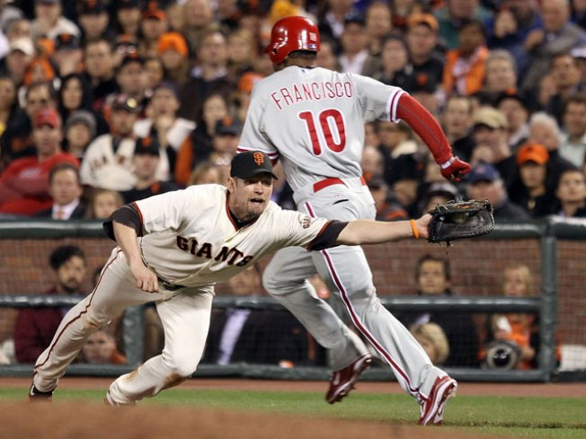 Giants Lose 4-2, Head Back to Philly
