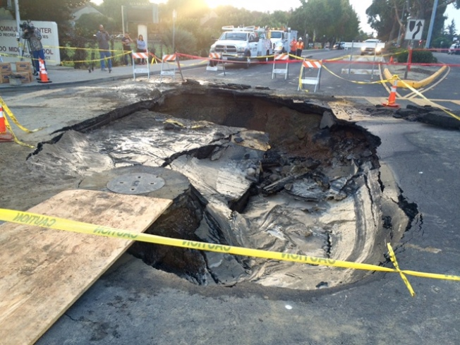 Union City Sinkhole Repairs Delayed After Crews Uncover Extensive Damage