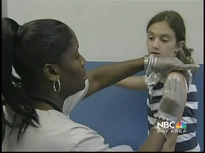Most Teens Don't Get Whooping Cough Shots