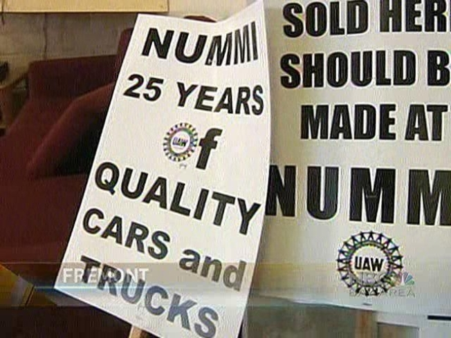 Former NUMMI Workers Make New Demands