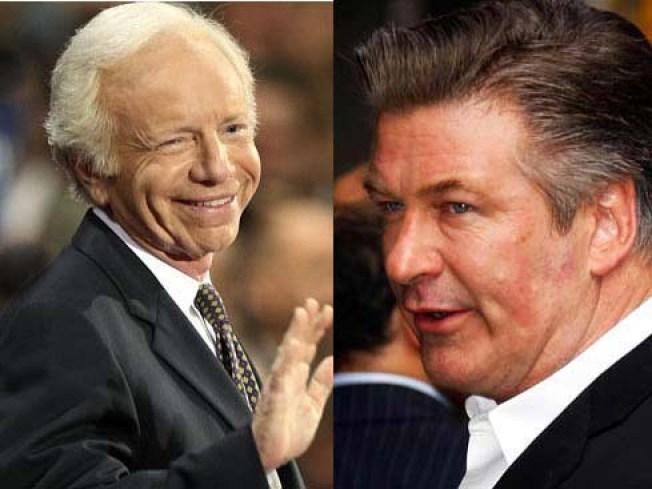 """Lieberman to Baldwin: """"Make My Day"""""""
