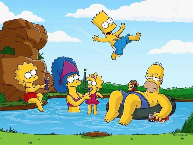 """Simpsons"" Poke Fun at Sweatshop Animation in New Intro"