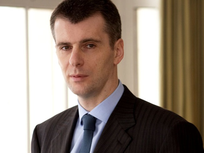 Nets Owner Prokhorov to Challenge Putin for Russian Presidency
